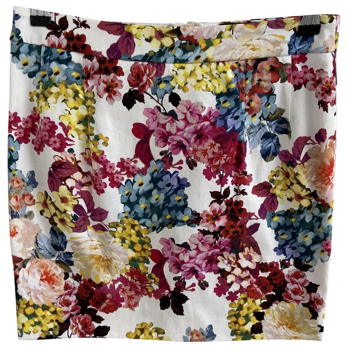 D&g - Jupe   pour femme en coton - multicolore