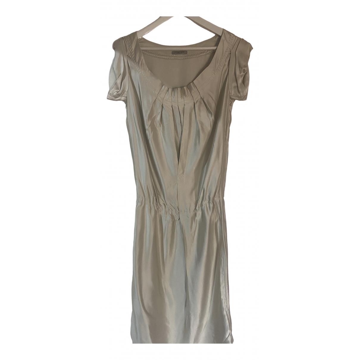 Bottega Veneta \N Kleid in  Gold Viskose