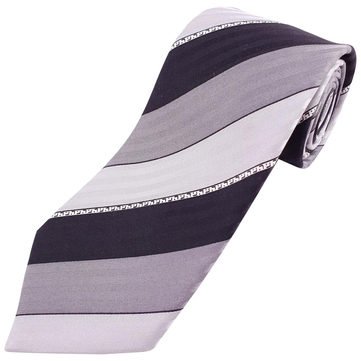 Lanvin \N Krawatten in  Grau Seide