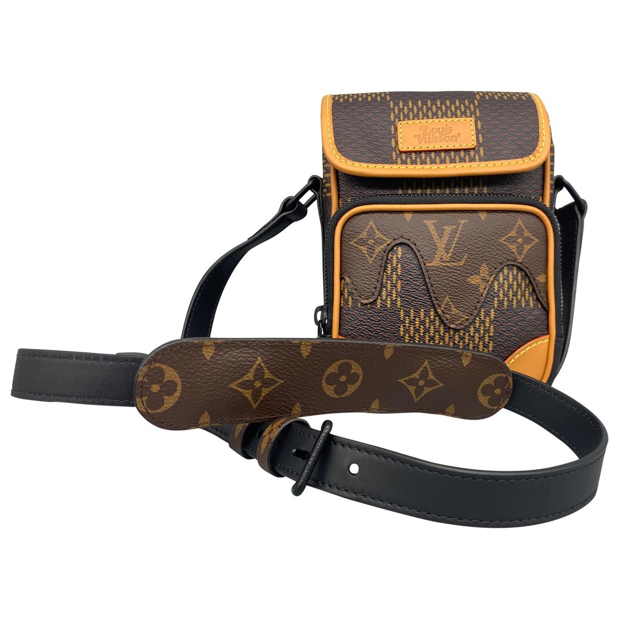Louis Vuitton X Nigo \N Camel Leather bag for Men \N