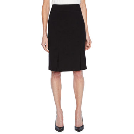 Black Label by Evan-Picone Suit Skirt, 12 , Black