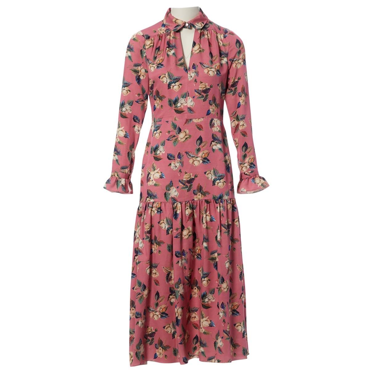 Vilshenko \N Pink Silk dress for Women 8 UK