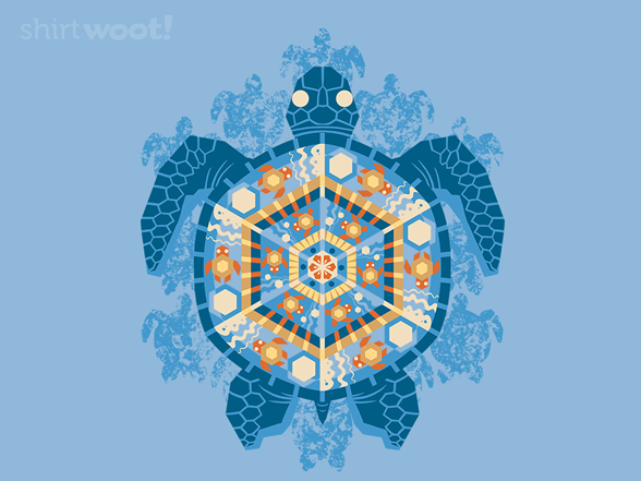 Turtley Trippy Remix T Shirt
