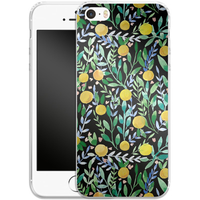 Apple iPhone 5s Silikon Handyhuelle - Bright Blossoms von Iisa Monttinen