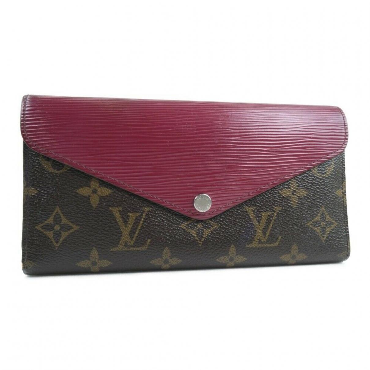 Louis Vuitton \N Portemonnaie in Leder