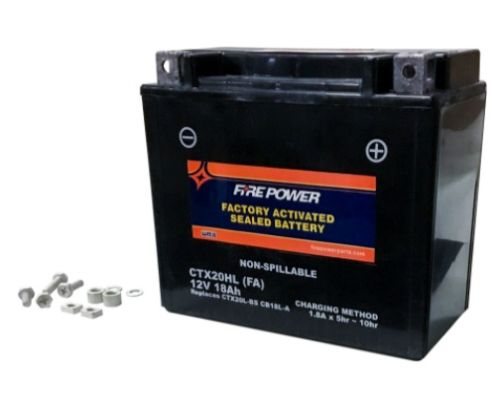 Fire Power Parts 49-2252 Battery Ctx20hl Sealed Factory Activated
