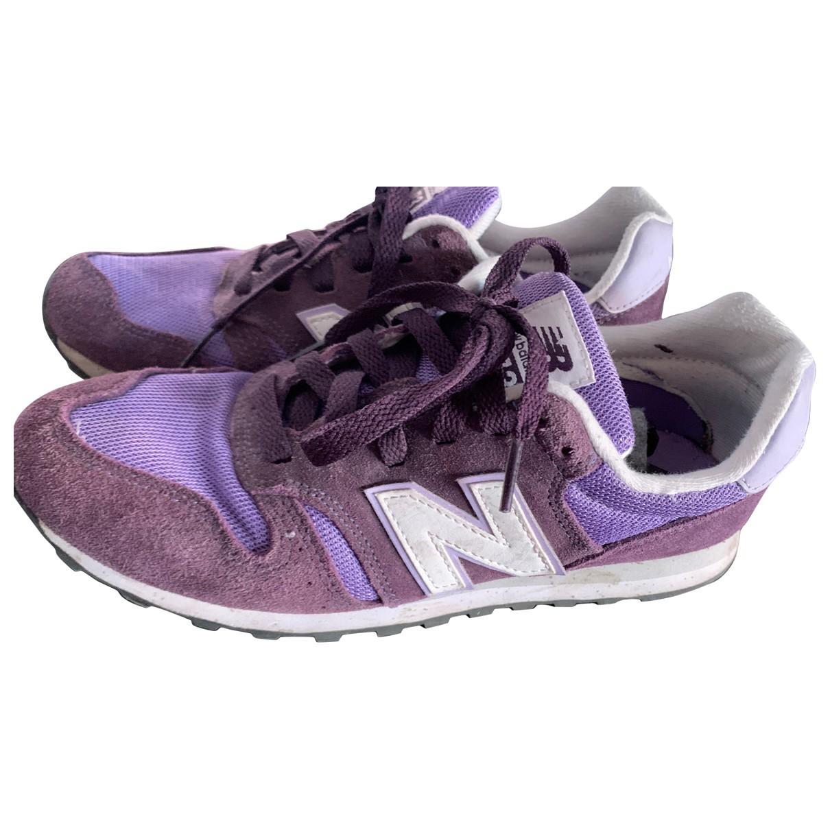 New Balance \N Sneakers in  Lila Veloursleder
