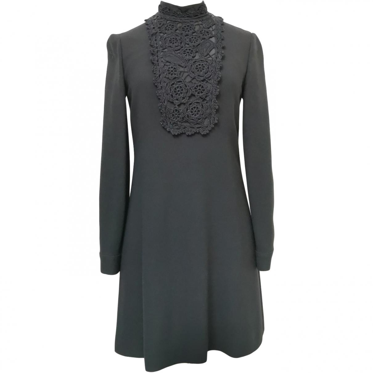 Prada \N Black Wool dress for Women 42 IT