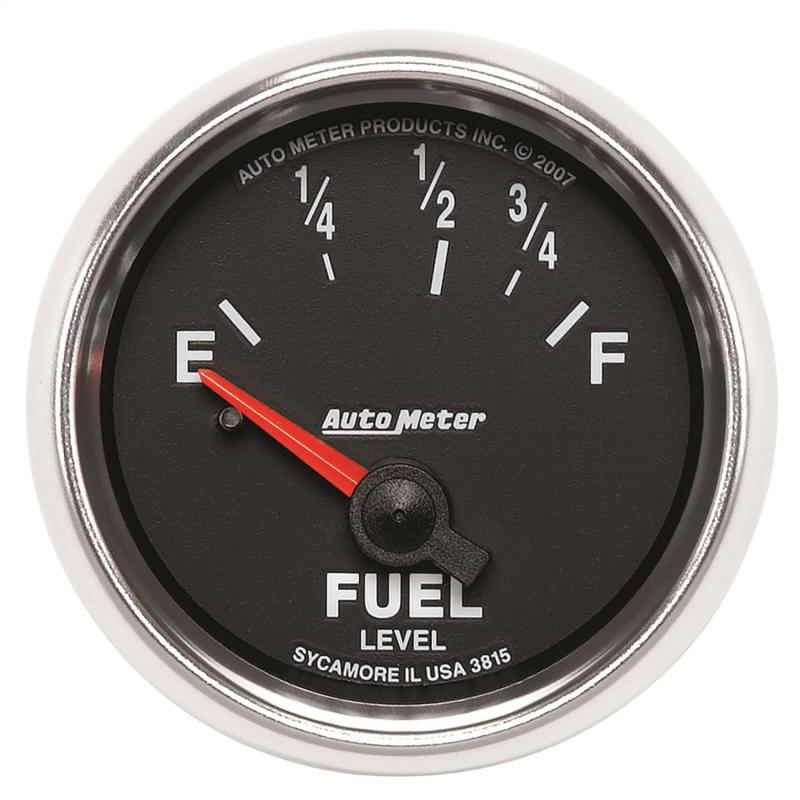 AutoMeter GAUGE; FUEL LEVEL; 2 1/16in.; 73OE TO 10OF; ELEC; GS