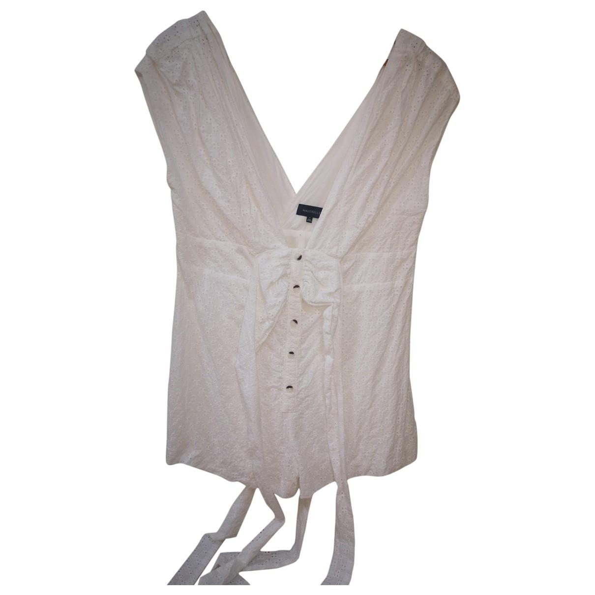 - Combinaison   pour femme en coton - blanc