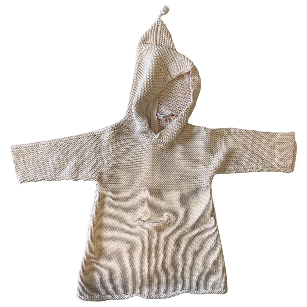Bonpoint - Blousons.Manteaux   pour enfant en coton - rose