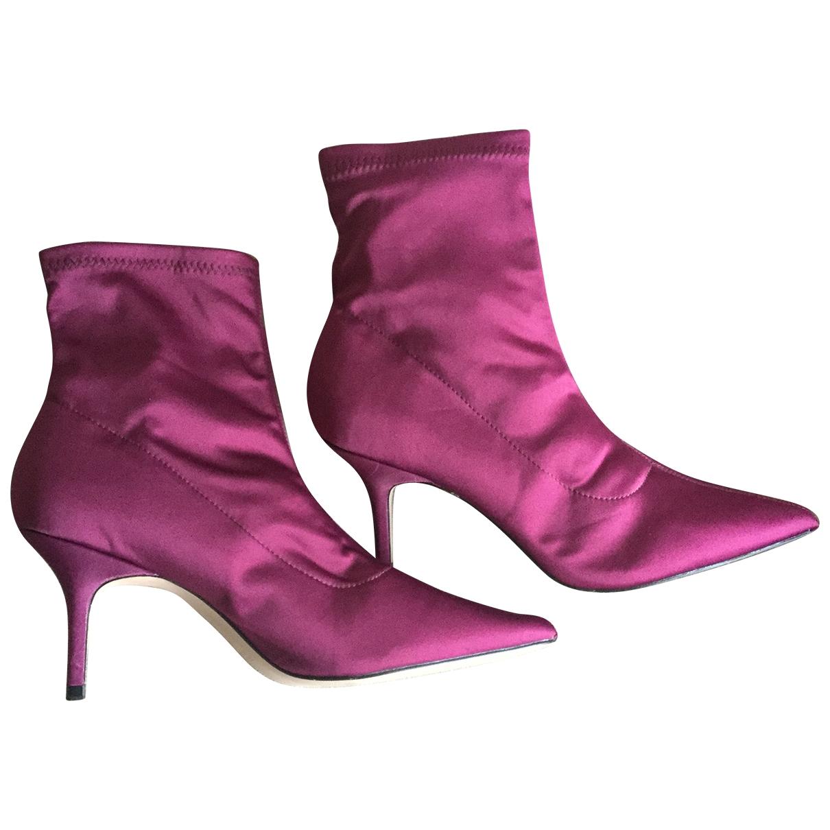Zara \N Cloth Boots for Women 40 EU