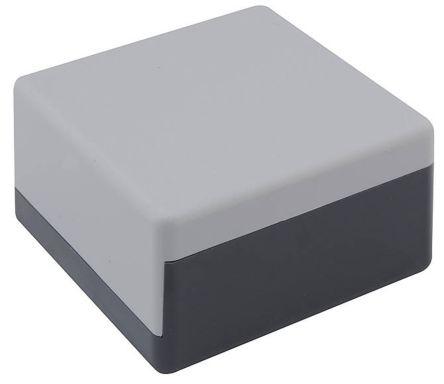 Bopla Universal, Grey ABS Enclosure, 75 x 75 x 40mm
