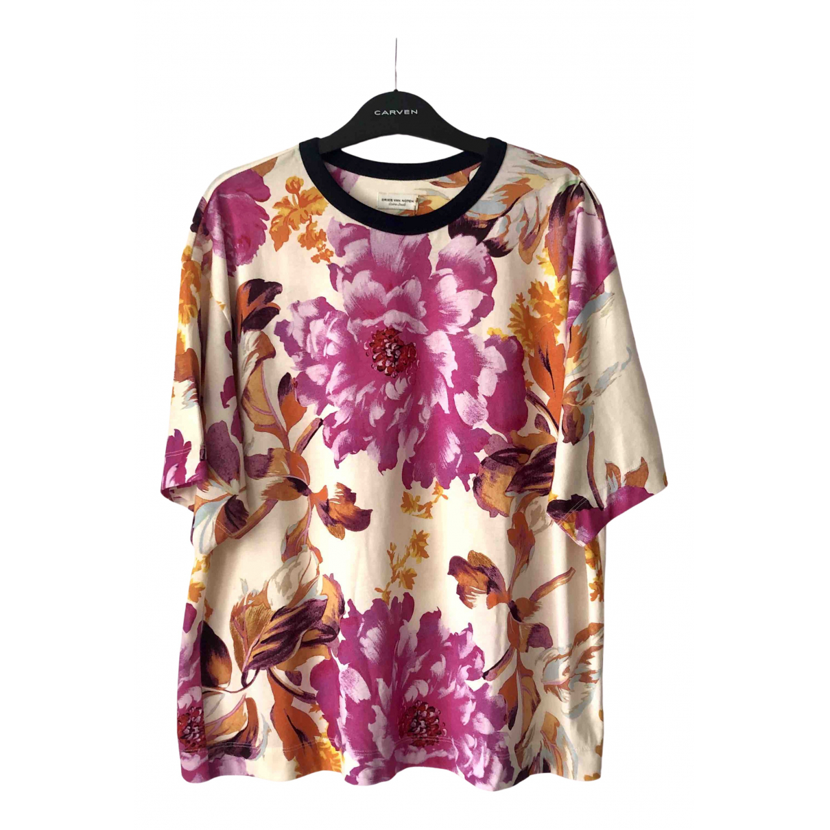 Dries Van Noten \N Pink Cotton  top for Women XS International