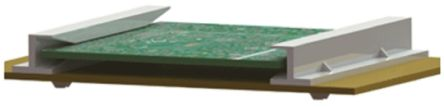 Richco RSSHG-401-165, Horizontal Mount PCB Card Guide 101.6mm Long, 1.6mm Thick Max. (10)