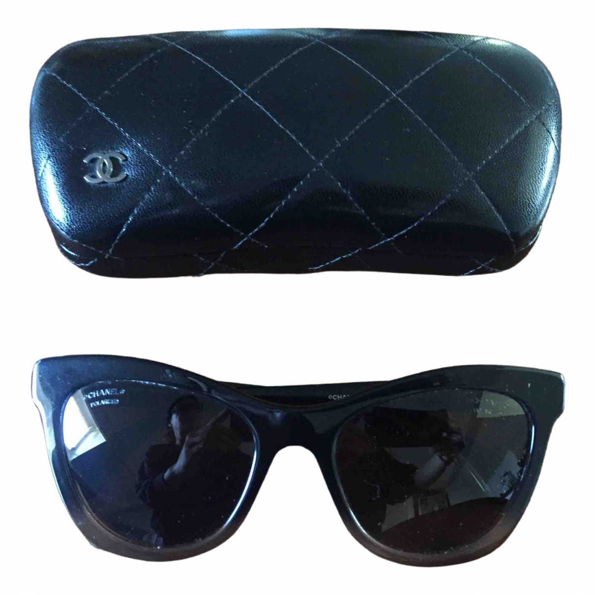Chanel \N Black Sunglasses for Women \N