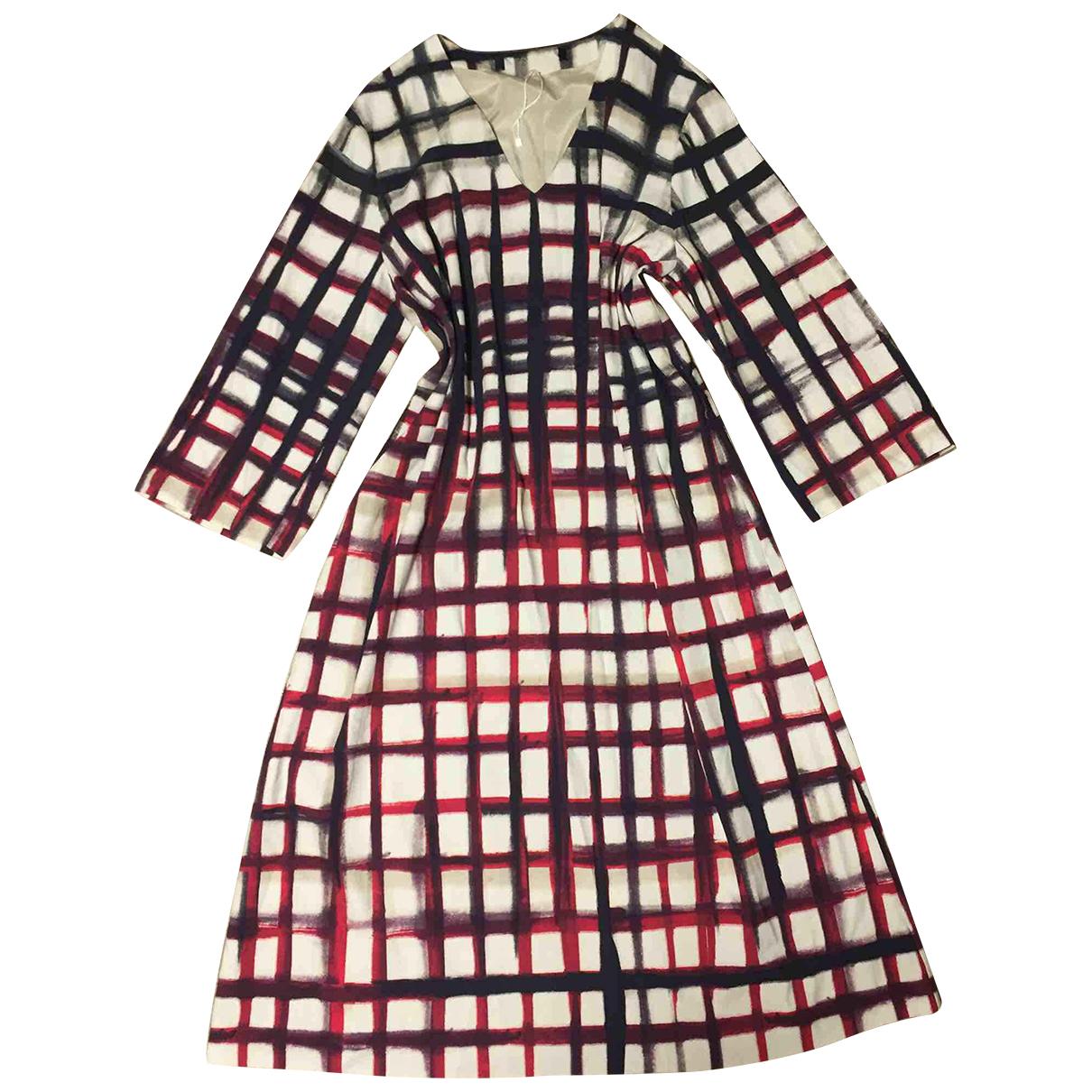 Marella \N Kleid in  Beige Polyester