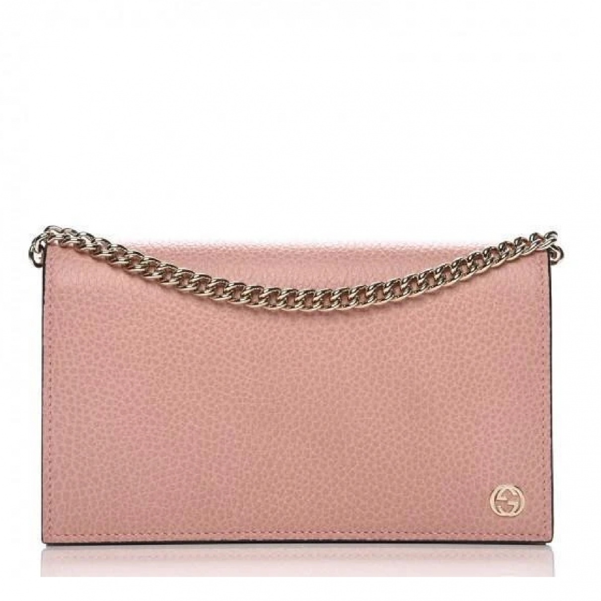 Gucci \N Clutch in  Rosa Leder