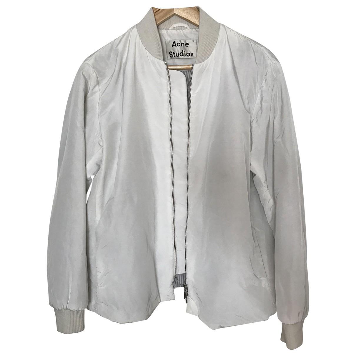 Acne Studios \N White jacket for Women 36 FR