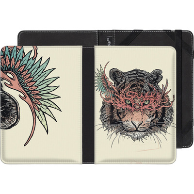 Pocketbook Touch Lux eBook Reader Huelle - Masked Tiger von Mat Miller