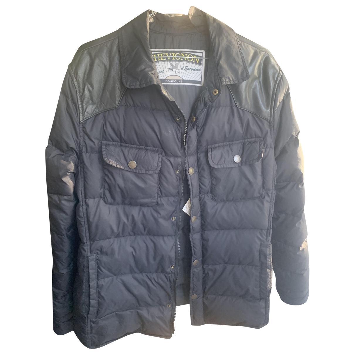 Chevignon - Manteau   pour homme - marine