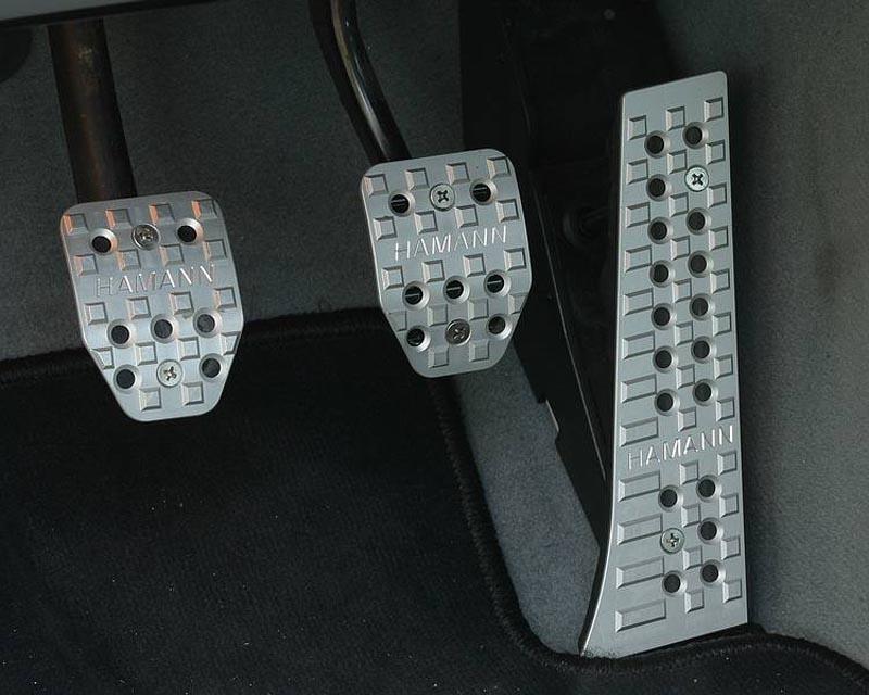 Hamann 82 099 131 Foot-Pedal Set 997 GT2 08-09