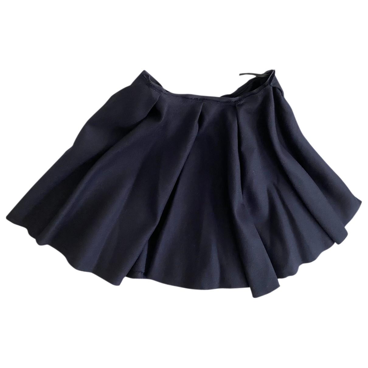 Falda midi de Lana Nina Ricci
