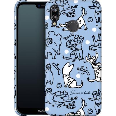 Huawei P20 Lite Smartphone Huelle - Happy Dogs Pattern von Simons Cat