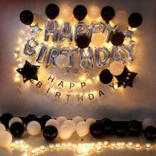 Conjunto de globo decorativo para cumpleaños 48 piezas
