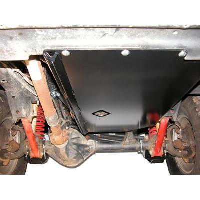 Skid Row Off Road Engine Skid Plate (Black) - JP-0019