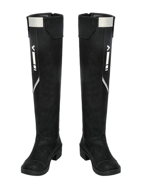 Milanoo Carnival Cosplay Costume Valorant Boots Carnival Shoes