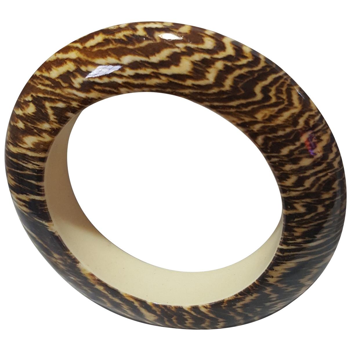 - Bracelet Motifs Ethniques pour femme - marron