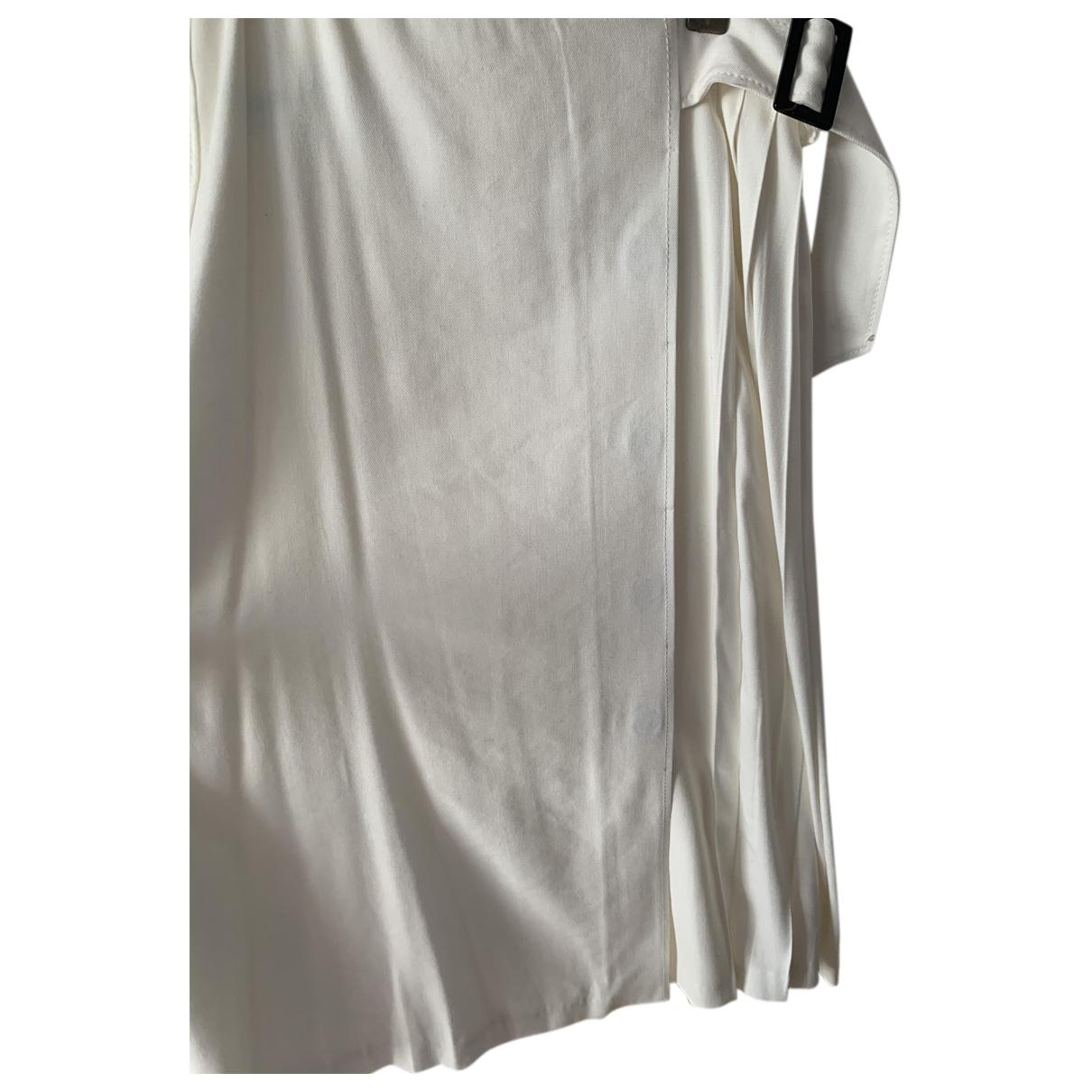 Massimo Dutti - Jupe   pour femme en coton - beige