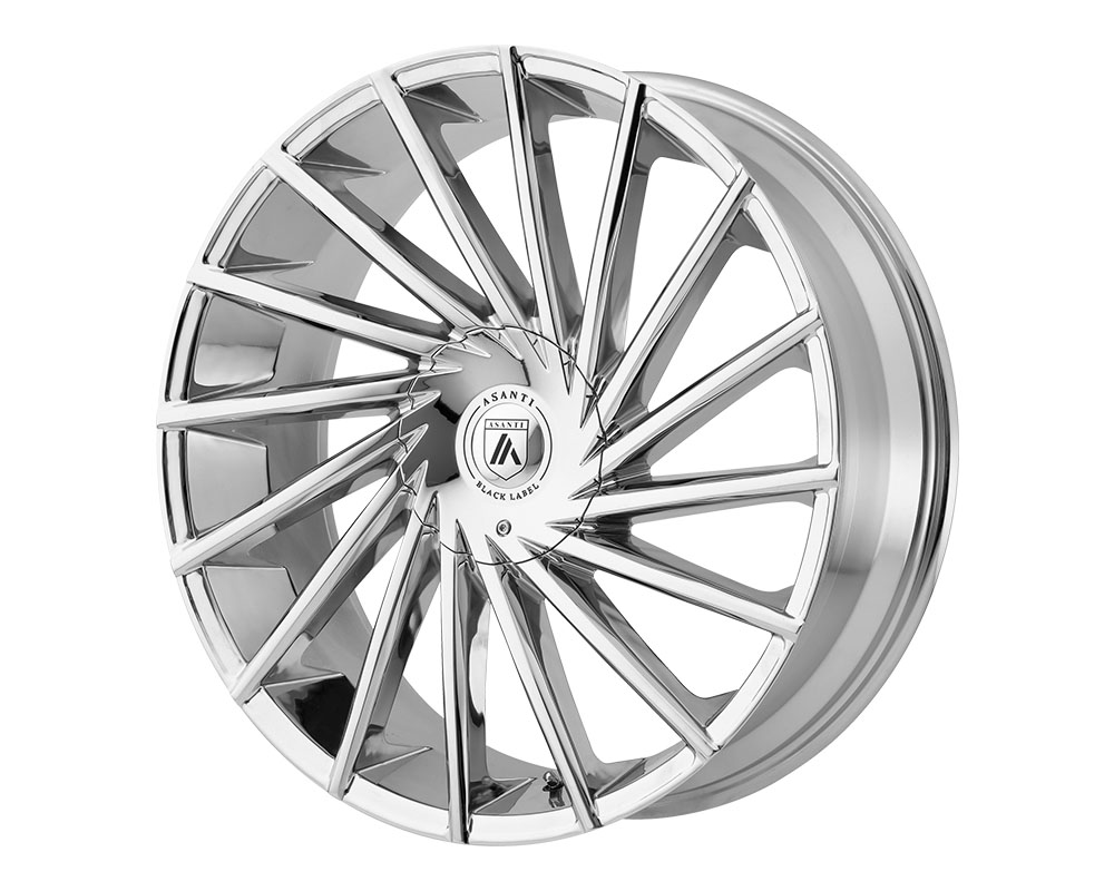 Asanti ABL18-24906715CH Black ABL-18 Matar Wheel 24x9 6x6x135/6x139.7 +15mm Chrome