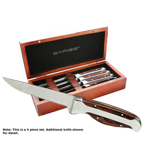 Steak Knife Set, 4 pieces, Model SK-107