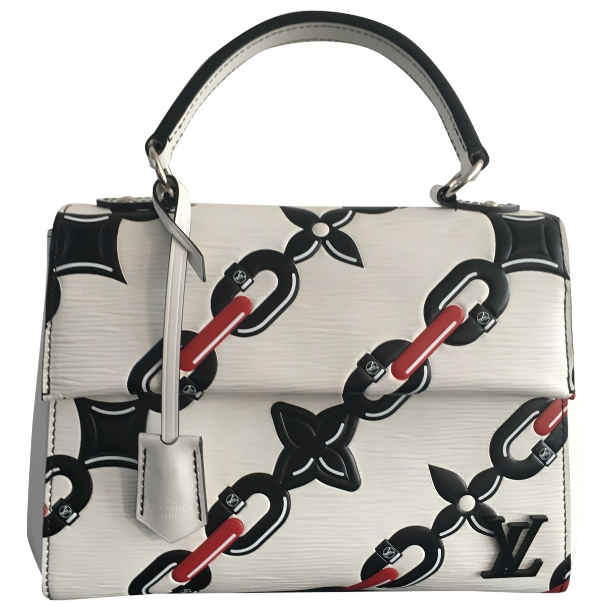Louis Vuitton - Sac a main Cluny pour femme en cuir