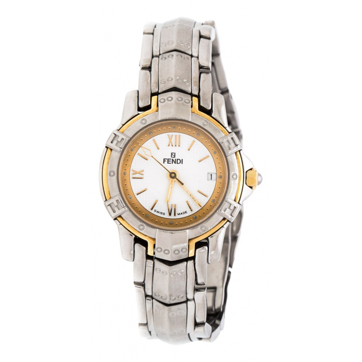 Fendi \N Silver Steel watch for Women \N