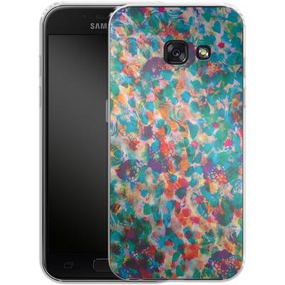 Samsung Galaxy A3 (2017) Silikon Handyhuelle - Floral Texture von Amy Sia