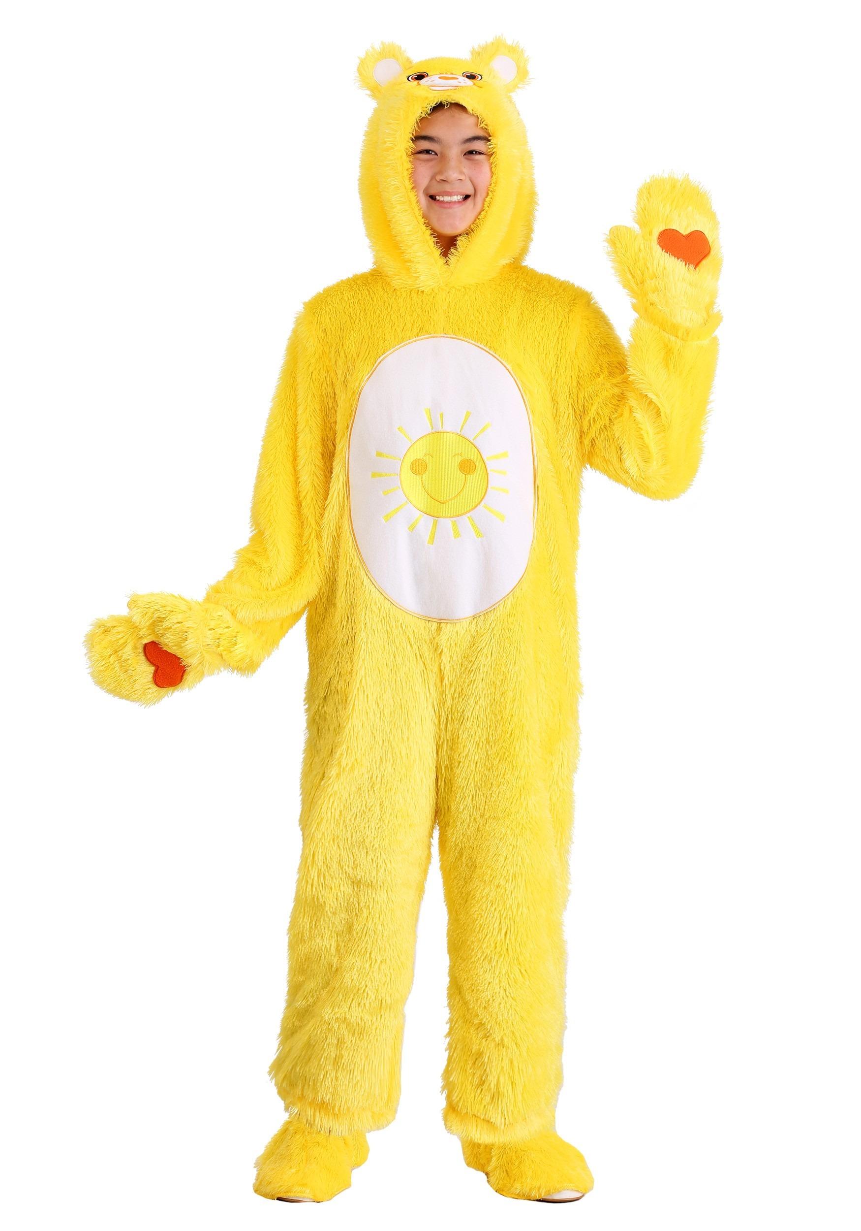 Childs Care Bears Classic Funshine Bear Costume