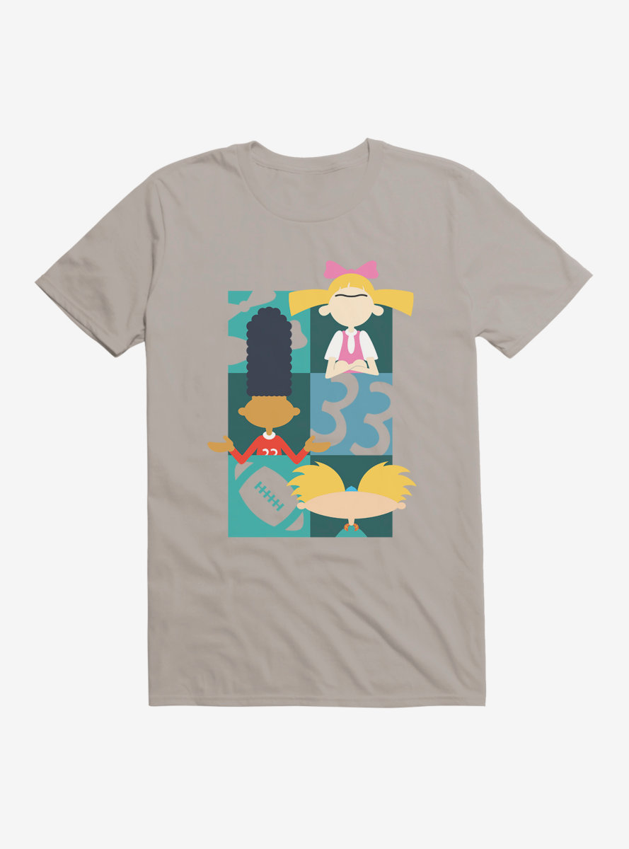 Hey Arnold! Icon Silhouettes T-Shirt