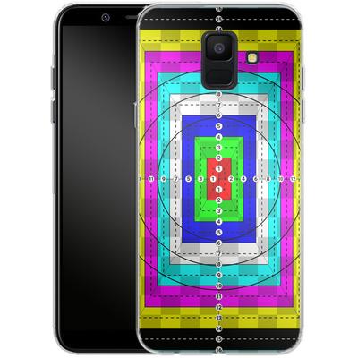 Samsung Galaxy A6 Silikon Handyhuelle - Test Case von caseable Designs