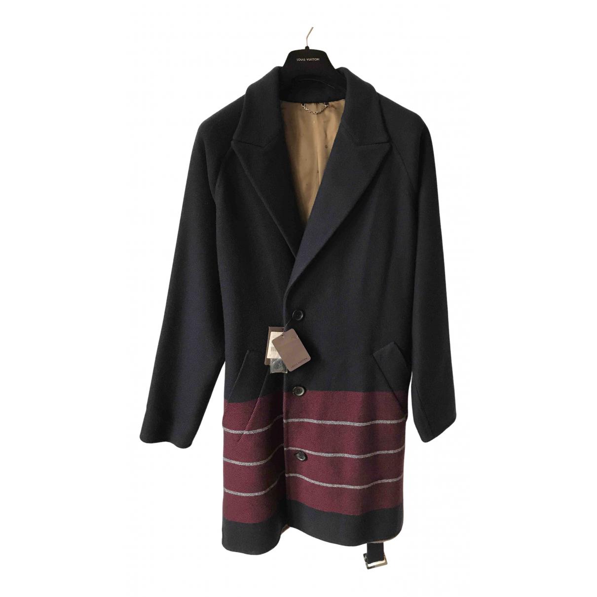 Louis Vuitton - Manteau   pour homme en cachemire - marine