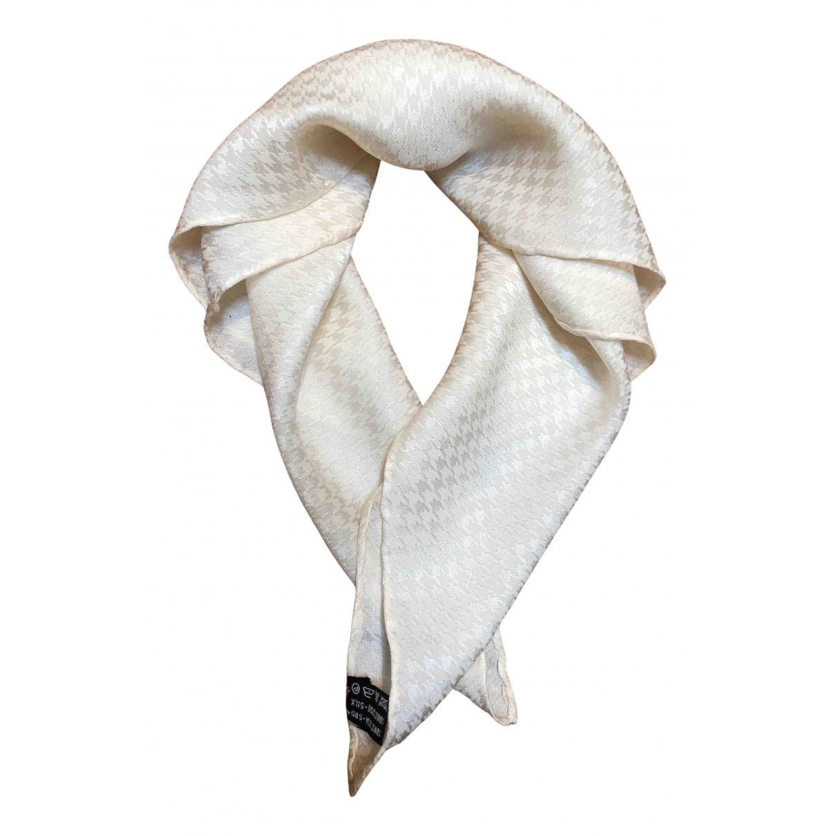 Basile N White Silk scarf for Women N