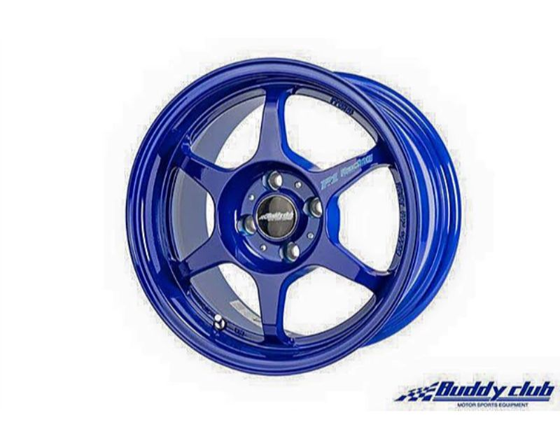 Buddy Club BC01-SF158025414-BL P1 Racing SF Wheel 15X8.0 ET25 4X114.3 Magnesium Blue