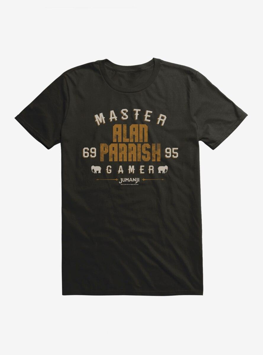Jumanji Alan Parrish Master Gamer T-Shirt