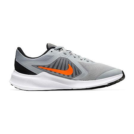 Nike Downshifter 10 Little Kid/Big Kid Boys Running Shoes, 7 Medium, Gray