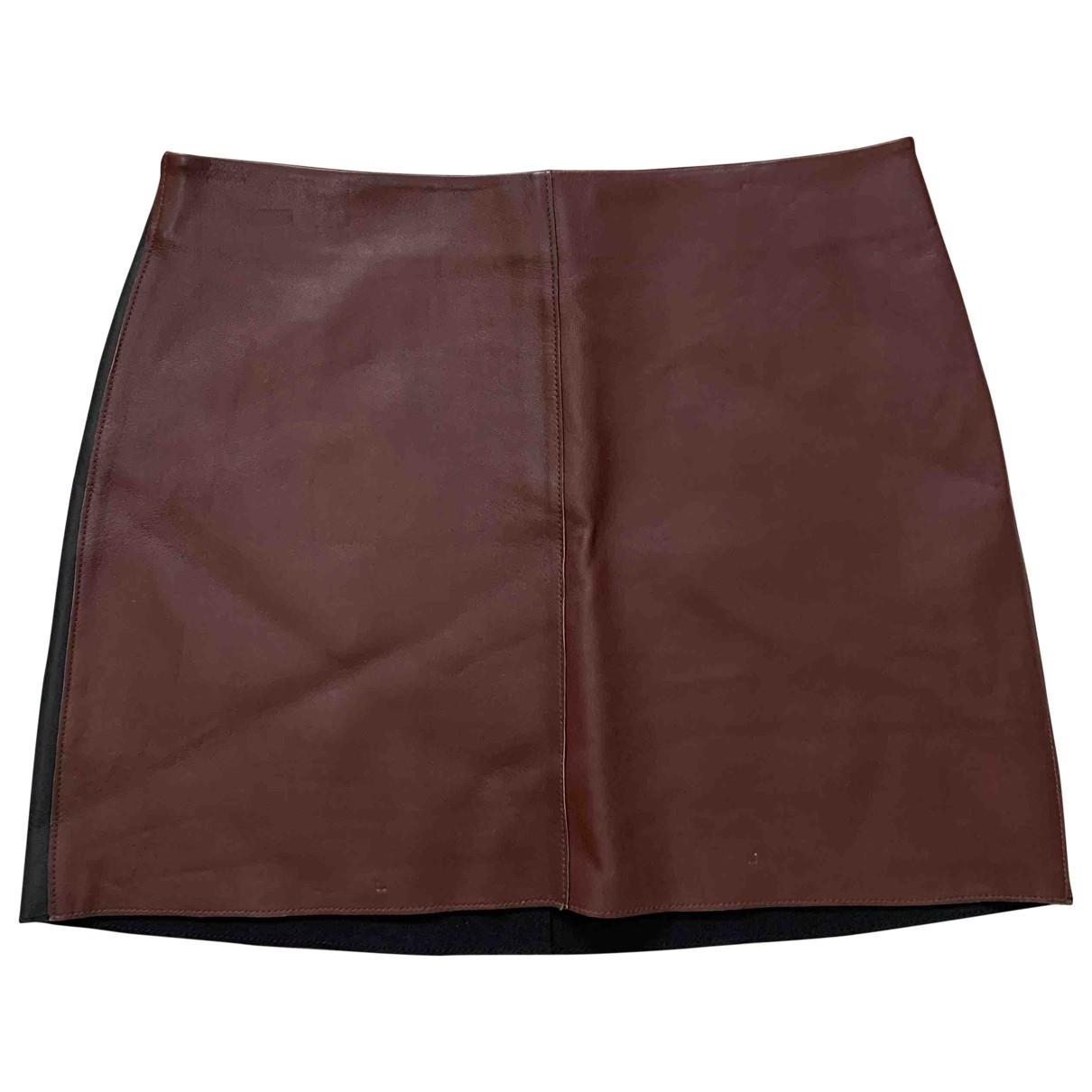 Diane Von Furstenberg N Multicolour Leather skirt for Women 16 UK