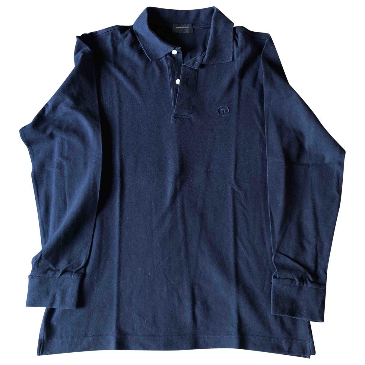 Sergio Tacchini \N Poloshirts in  Blau Baumwolle