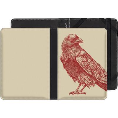 Sony Reader PRS-T3 eBook Reader Huelle - Red Raven von Terry Fan