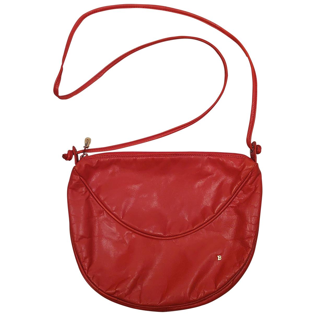 Bally \N Handtasche in  Rot Leder